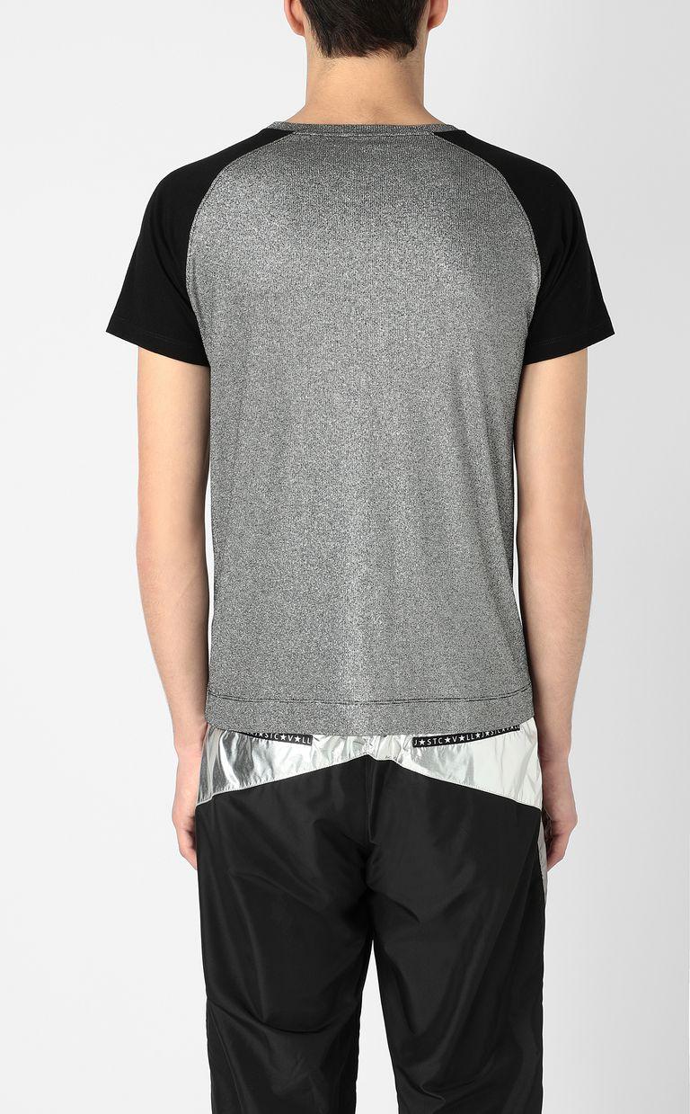 JUST CAVALLI Metallic-effect t-shirt Short sleeve t-shirt Man a
