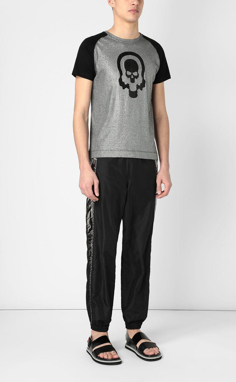 JUST CAVALLI Metallic-effect t-shirt Short sleeve t-shirt Man d