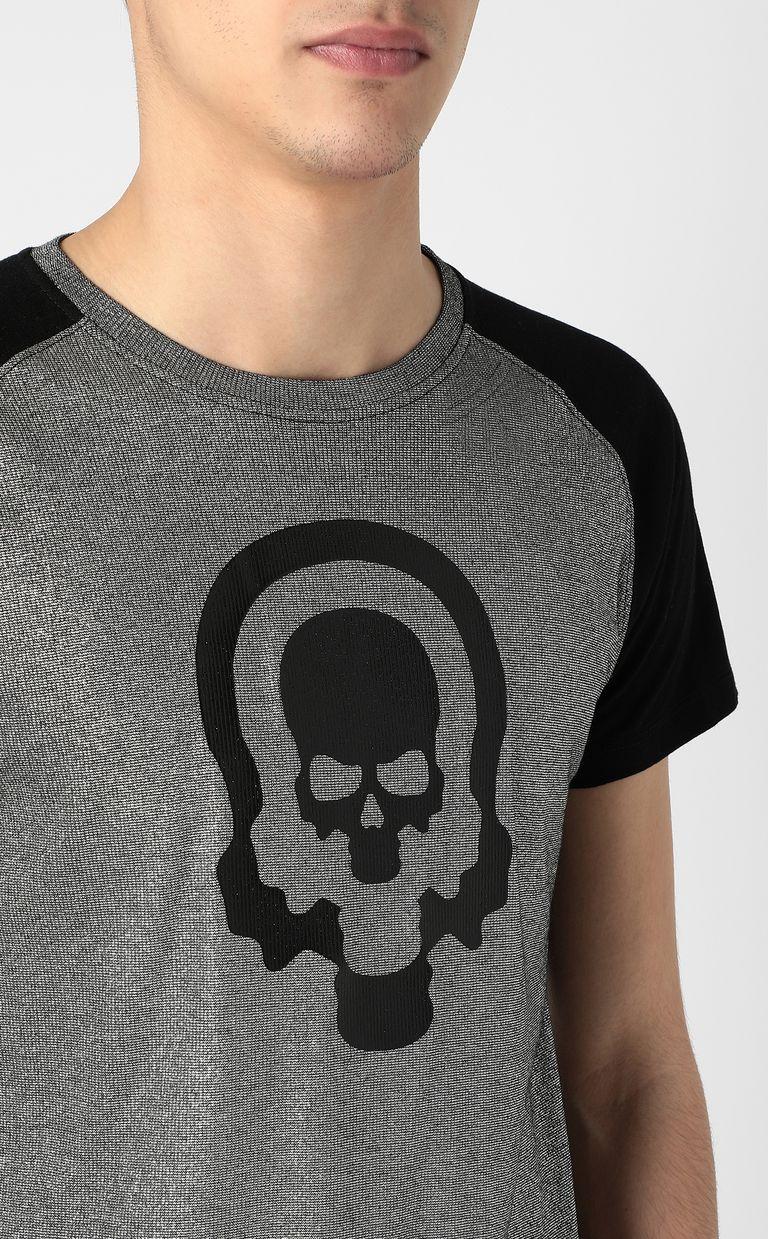 JUST CAVALLI Metallic-effect t-shirt Short sleeve t-shirt Man e