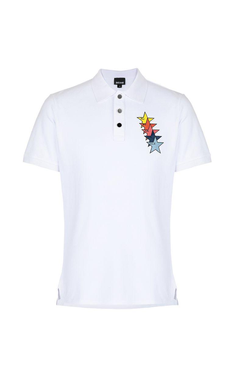 JUST CAVALLI Just Cavalli Stars polo shirt Polo shirt Man f