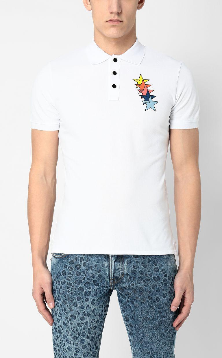 JUST CAVALLI Just Cavalli Stars polo shirt Polo shirt Man r
