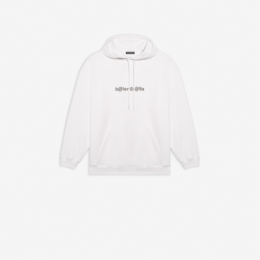 Symbolic Medium Fit Hoodie White for
