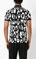 JUST CAVALLI Polo shirt with leopard-spot print Polo shirt Man a