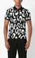 JUST CAVALLI Polo shirt with leopard-spot print Polo shirt Man r