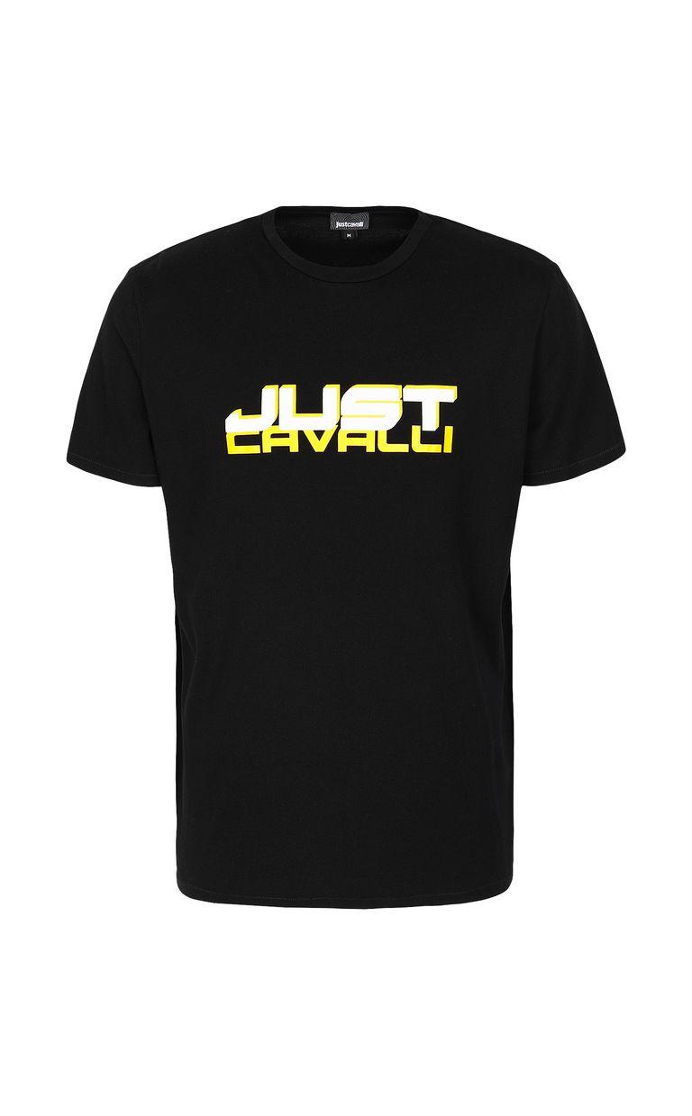 JUST CAVALLI T-shirt with logo Short sleeve t-shirt Man f