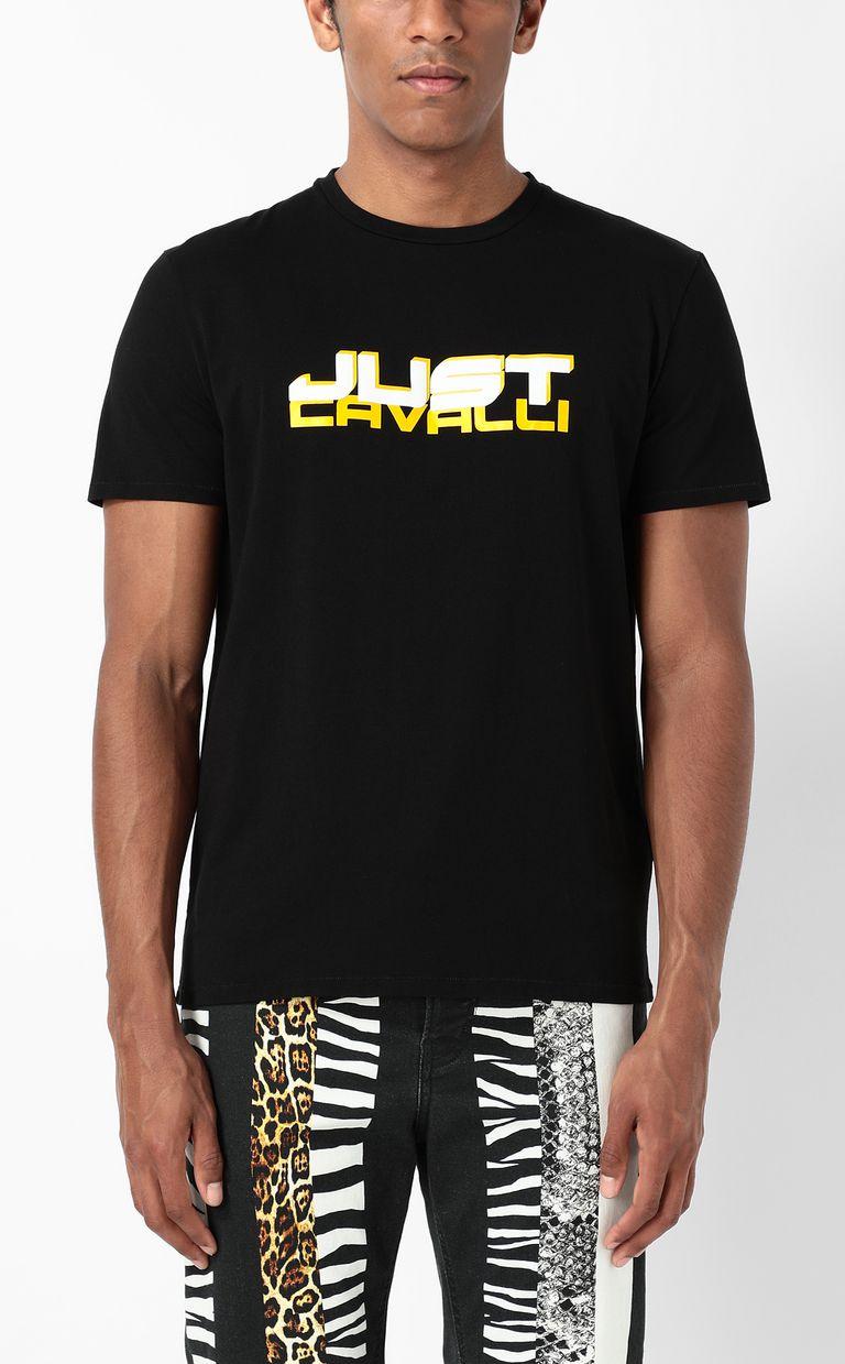 JUST CAVALLI T-shirt with logo Short sleeve t-shirt Man r