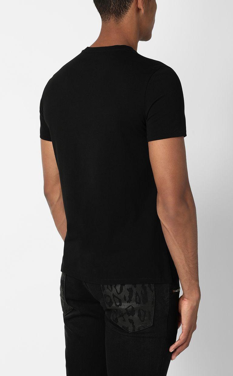 JUST CAVALLI Tribal-Skull print t-shirt Short sleeve t-shirt Man a