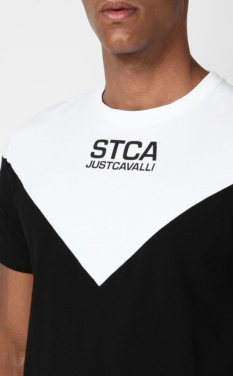 JUST CAVALLI T-shirt with STCA logo Short sleeve t-shirt Man e