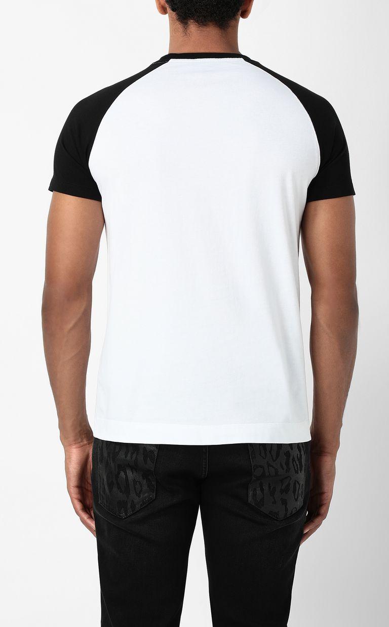 JUST CAVALLI T-shirt with Panther 1970 print Short sleeve t-shirt Man a