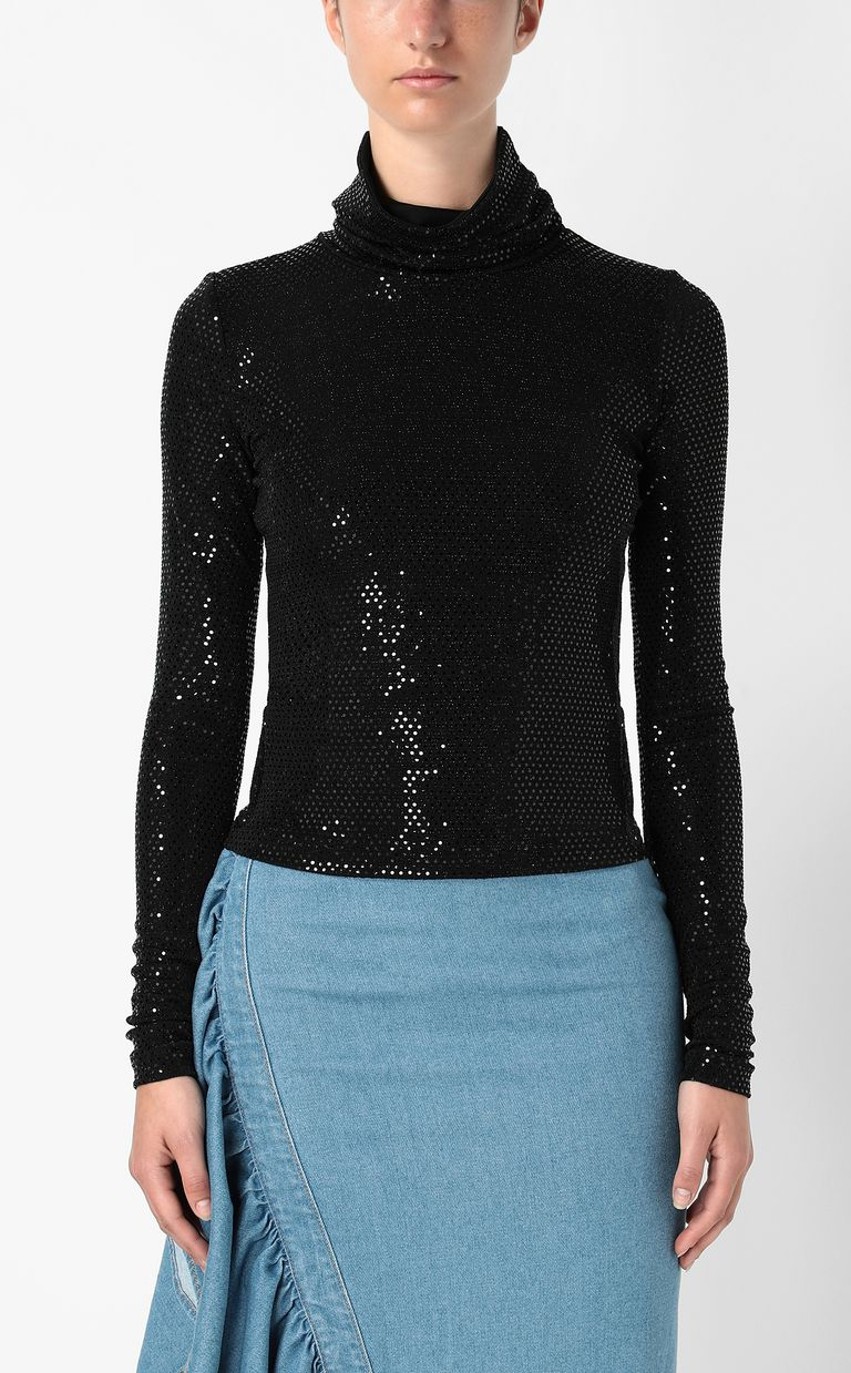 JUST CAVALLI Spangled top Top Woman r