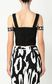 JUST CAVALLI Top with logo tape Top Woman a