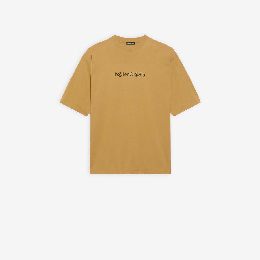 Symbolic Large Fit T Shirt BEIGE/BLACK