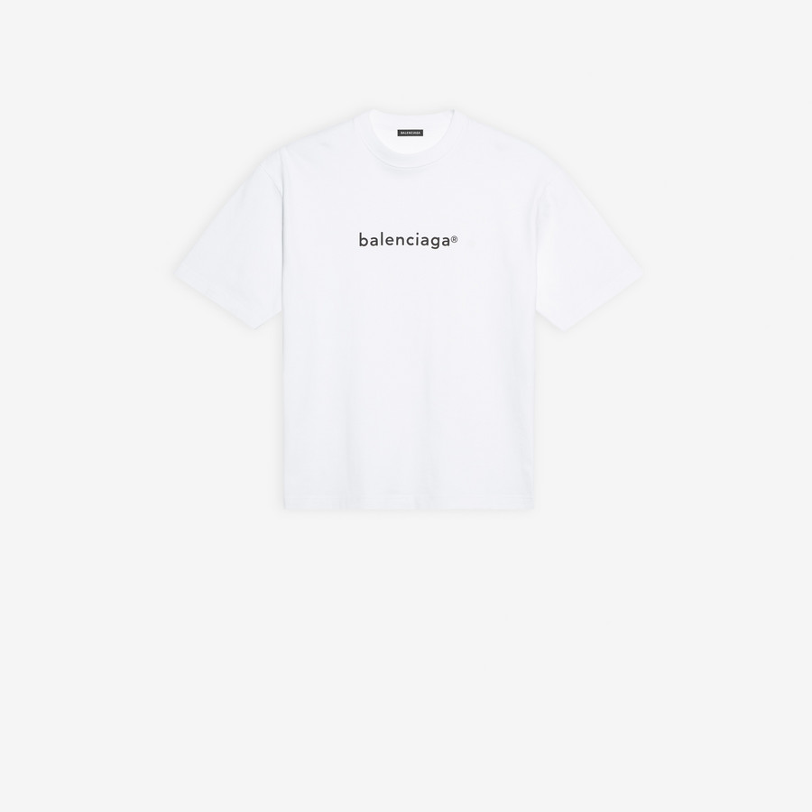 T Shirt In White Cotton Jersey