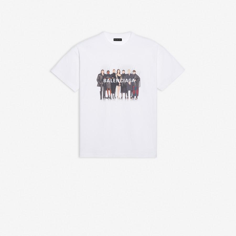 Real Balenciaga Medium Fit T Shirt