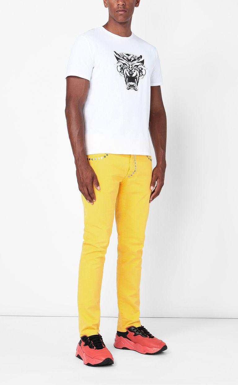 "JUST CAVALLI ""Tiger-Knocker"" print t-shirt Short sleeve t-shirt Man d"
