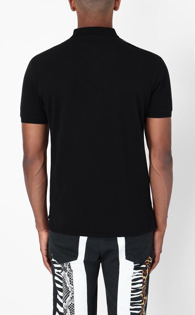 JUST CAVALLI Polo shirt with Tiger-Knocker print Polo shirt Man a