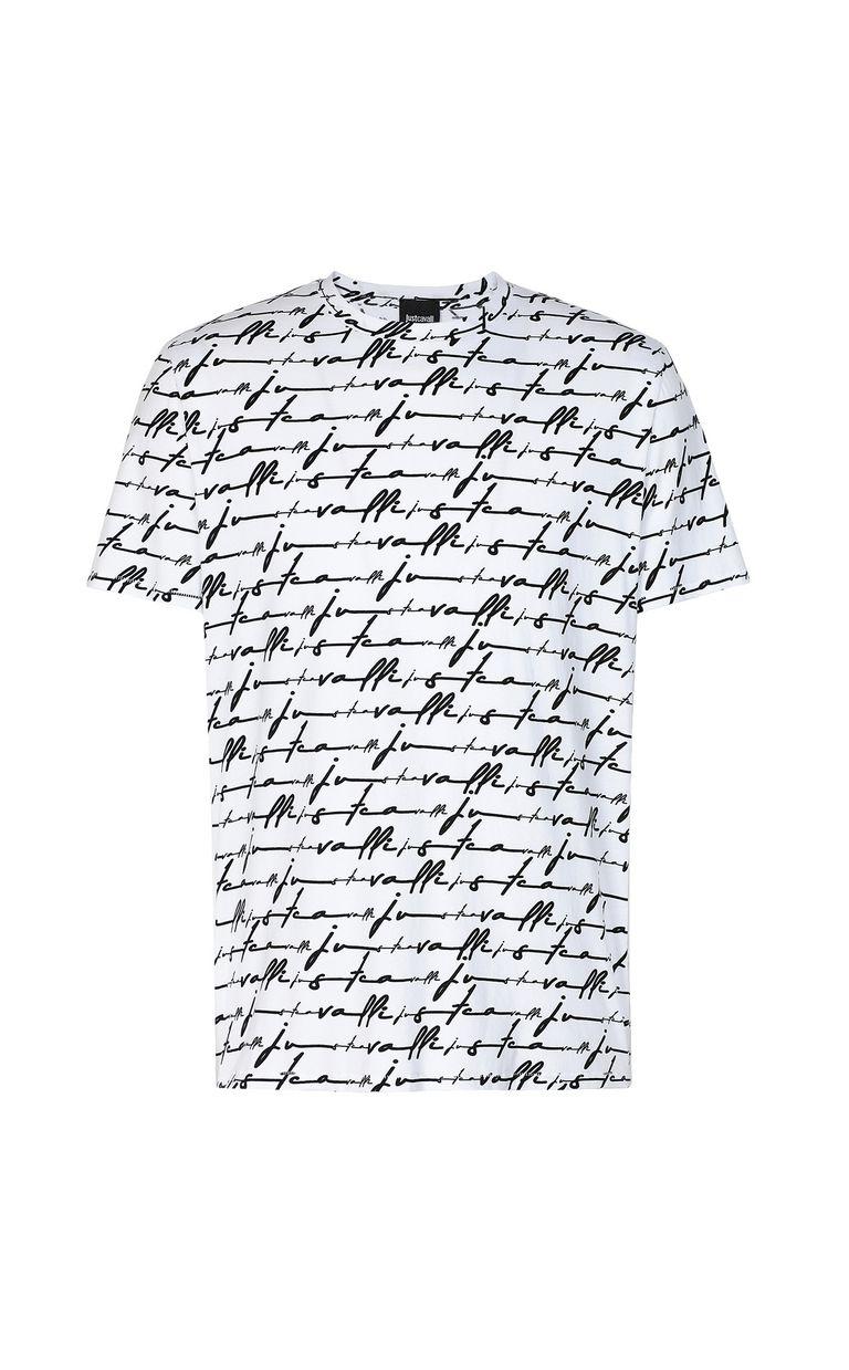 JUST CAVALLI Just-Cavalli-Signature t-shirt Short sleeve t-shirt Man f