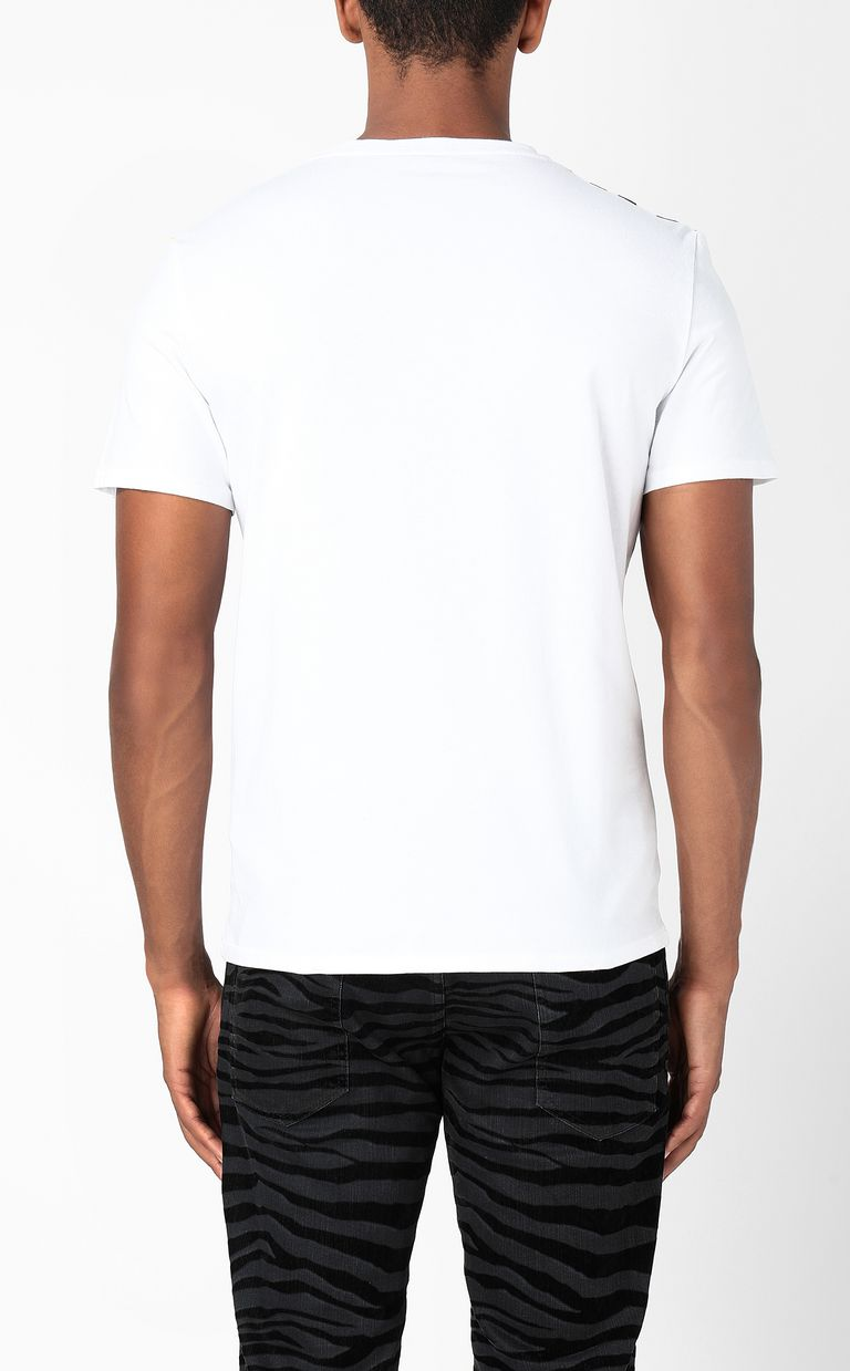 JUST CAVALLI T-shirt with Pop-Skull print Short sleeve t-shirt Man a