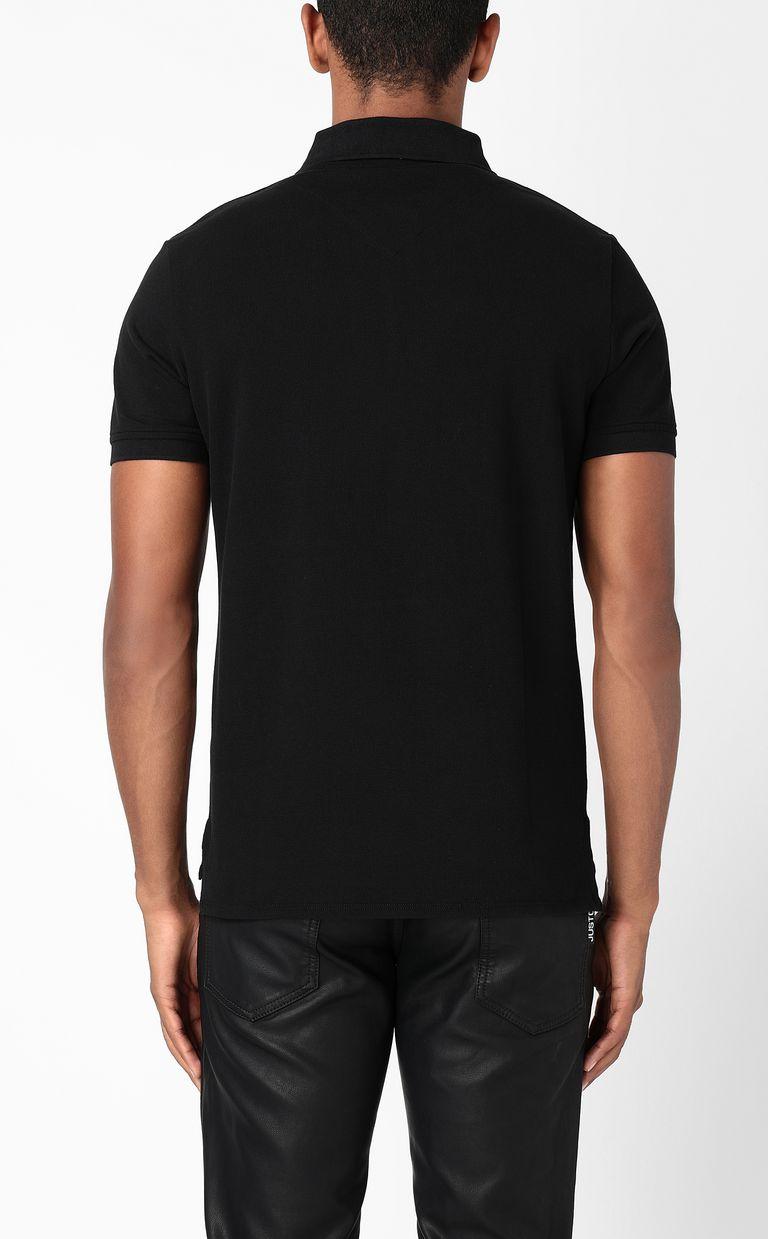 JUST CAVALLI Polo shirt with Flower-Skull print Polo shirt Man a