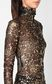 JUST CAVALLI Close-fitting top with gold details Top Woman e