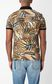JUST CAVALLI Tiger-Patchwork-print polo shirt Polo shirt Man a