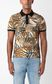 JUST CAVALLI Tiger-Patchwork-print polo shirt Polo shirt Man r