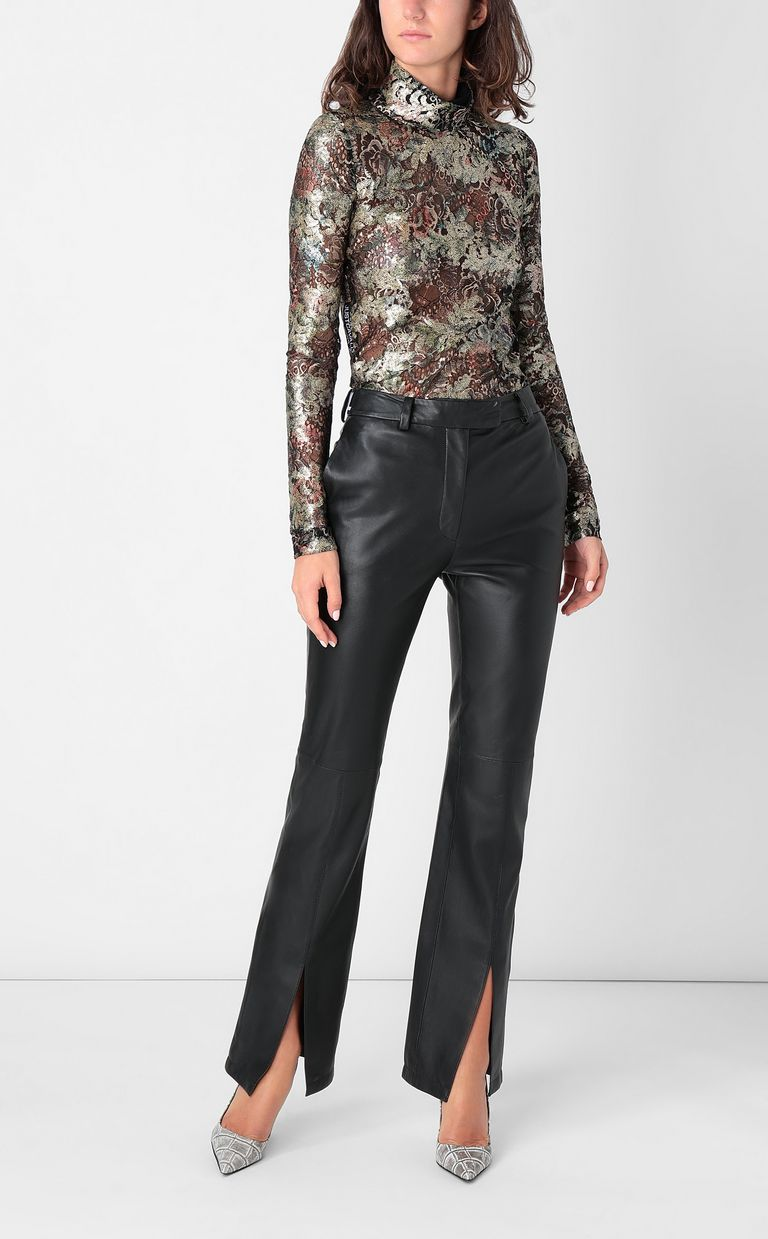 JUST CAVALLI Close-fitting floral top Top Woman d