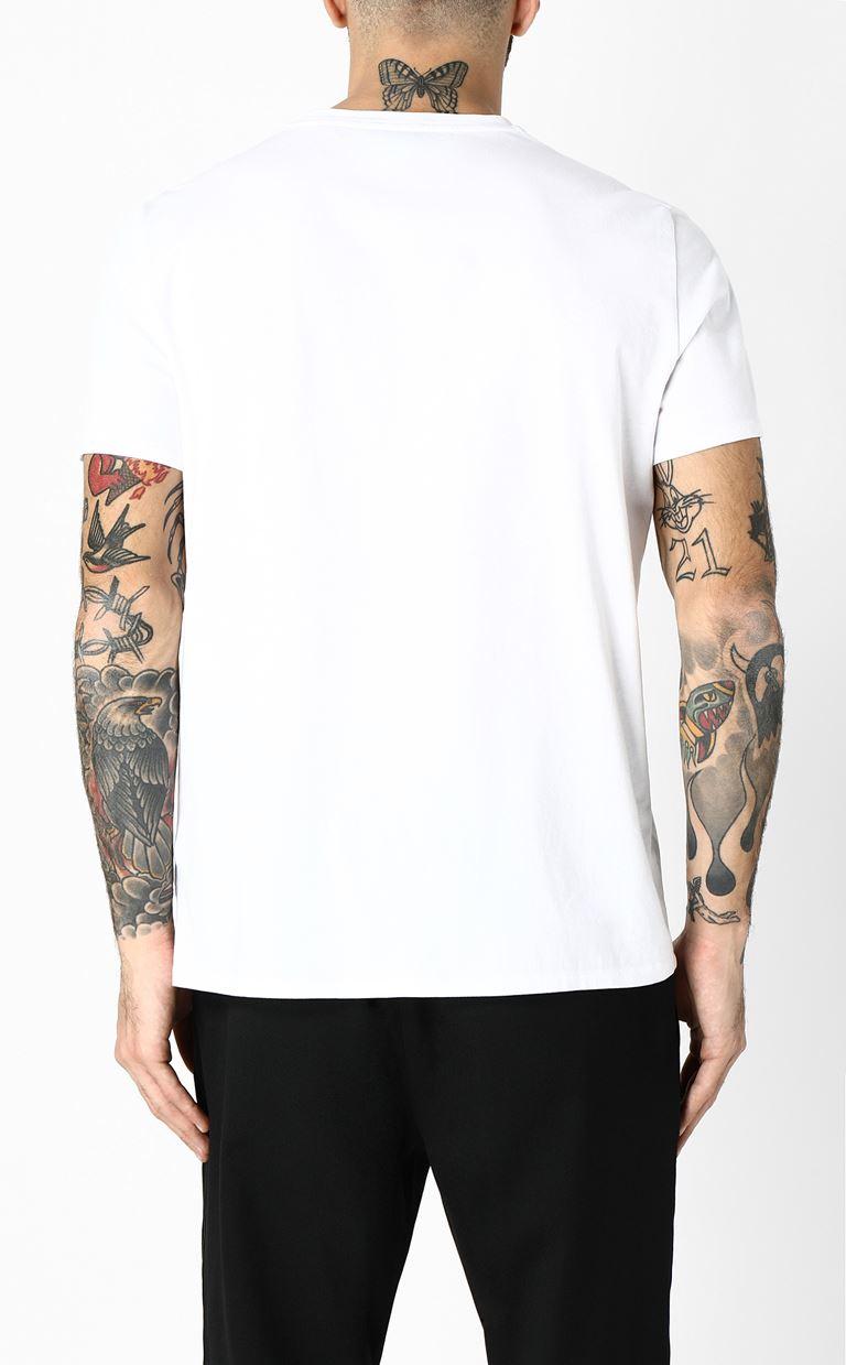 JUST CAVALLI T-shirt with Leo print Short sleeve t-shirt Man e