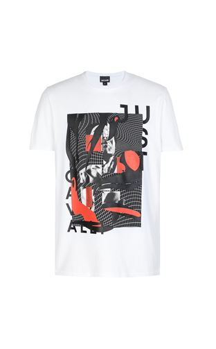 JUST CAVALLI Short sleeve t-shirt Man T-shirt with print design f