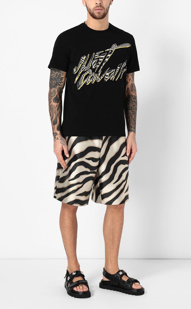 JUST CAVALLI T-shirt with logo Short sleeve t-shirt Man d