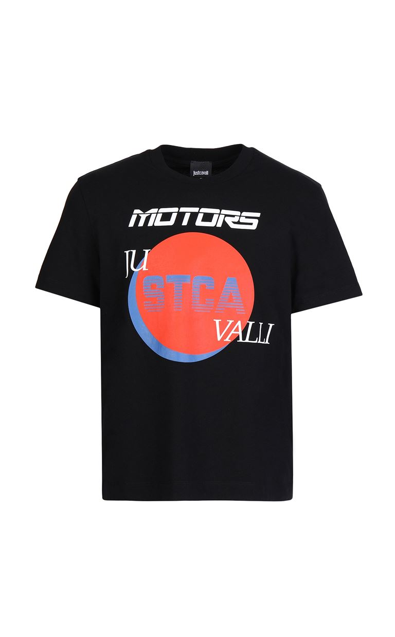 JUST CAVALLI Short sleeve t-shirt Man f