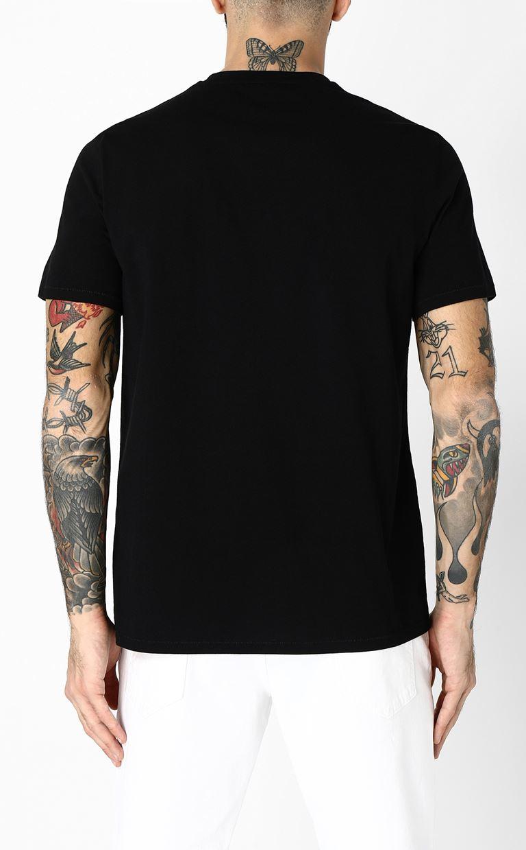 JUST CAVALLI T-shirt with skull print Short sleeve t-shirt Man e