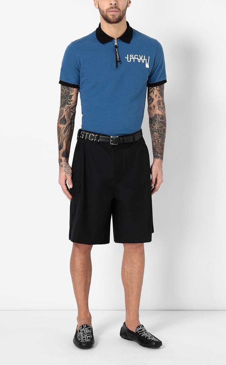 JUST CAVALLI Polo shirt with logo detail Polo shirt Man d