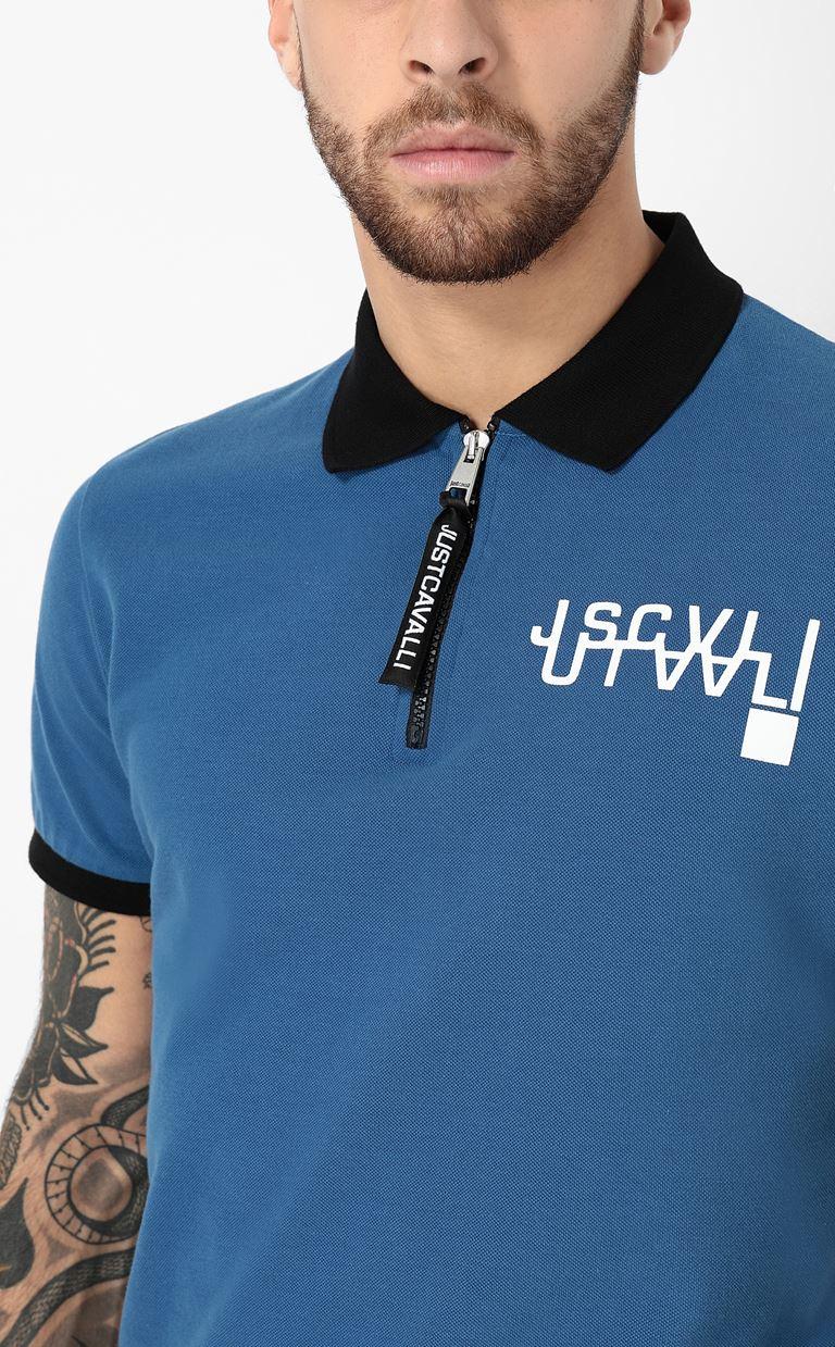 JUST CAVALLI Polo shirt with logo detail Polo shirt Man e