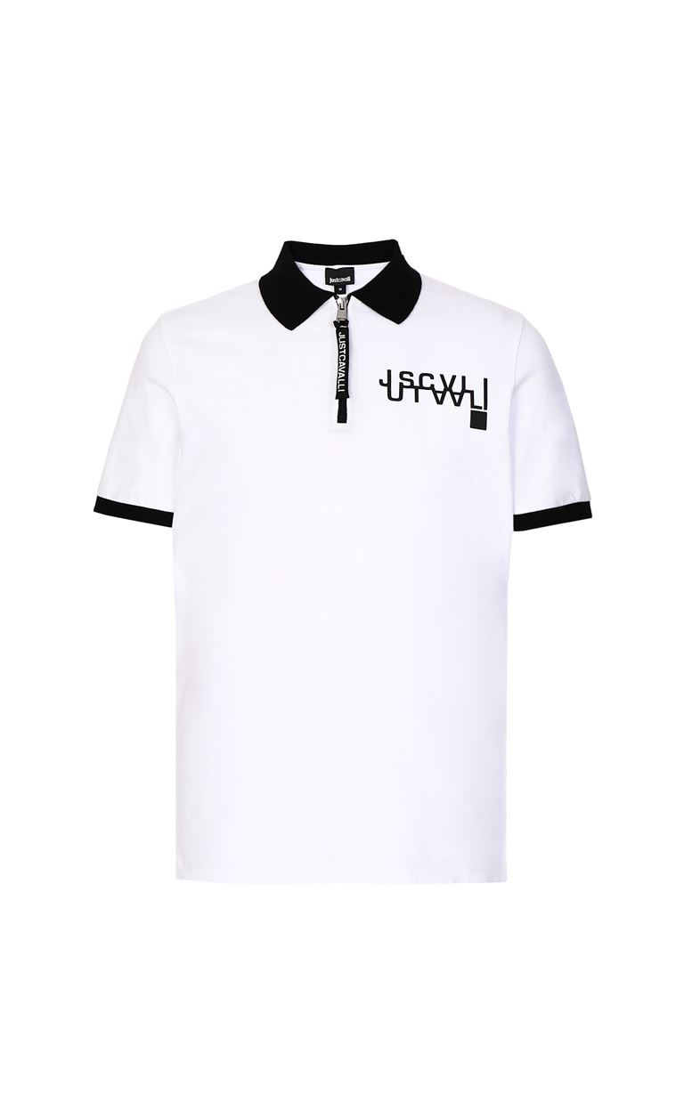JUST CAVALLI Polo shirt with logo detail Polo shirt Man f