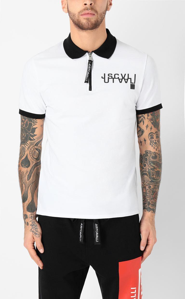 JUST CAVALLI Polo shirt with logo detail Polo shirt Man r