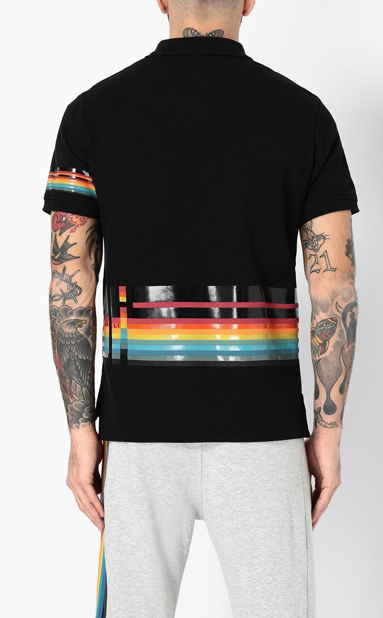 JUST CAVALLI Polo shirt with print detail Polo shirt Man a