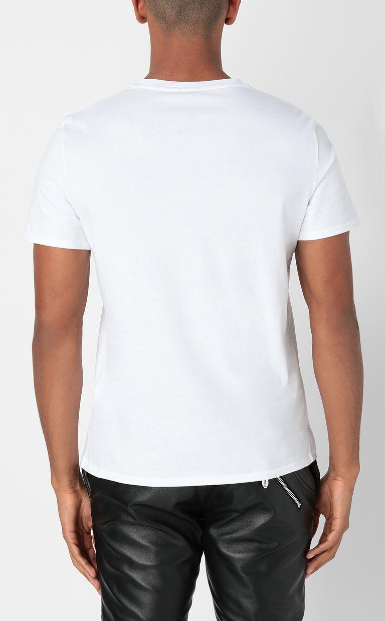 JUST CAVALLI T-shirt with print design Short sleeve t-shirt Man a