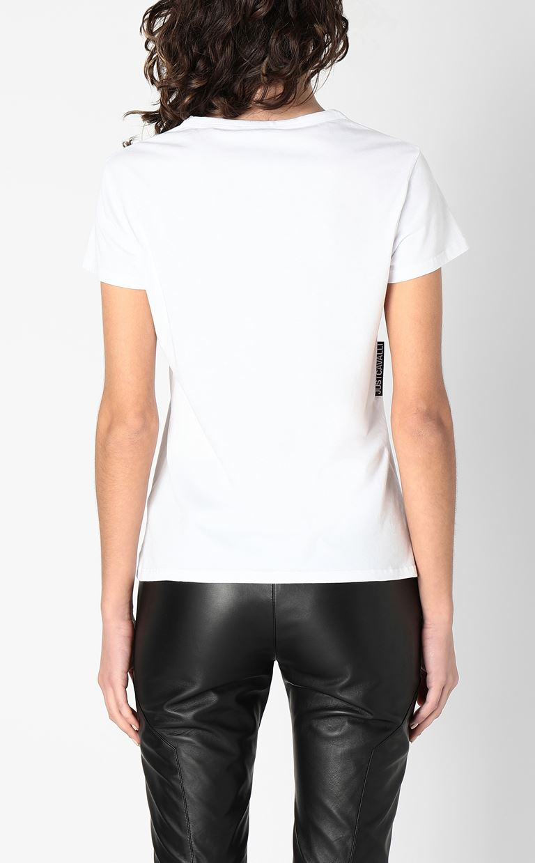 JUST CAVALLI Short sleeve t-shirt Woman a