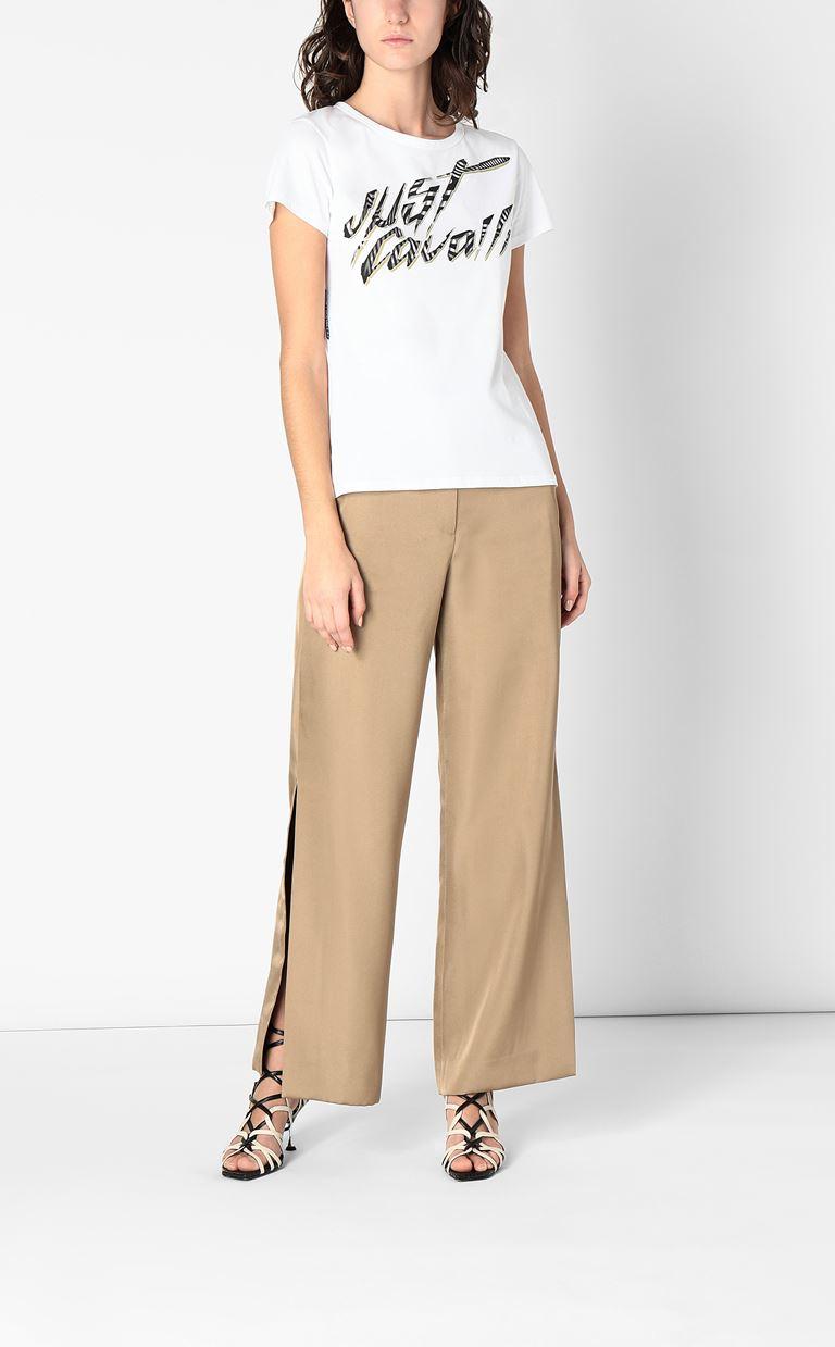 JUST CAVALLI Short sleeve t-shirt Woman d