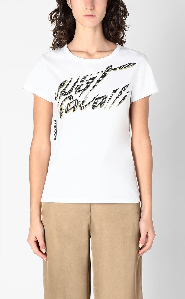 JUST CAVALLI Short sleeve t-shirt Woman r