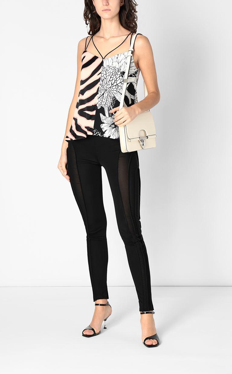 JUST CAVALLI Top with print design Top Woman d