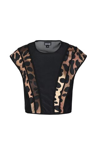 JUST CAVALLI Top Woman Top with floral print f