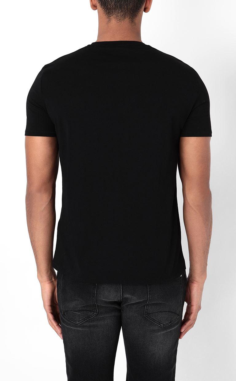 JUST CAVALLI T-shirt with Tiger print Short sleeve t-shirt Man a