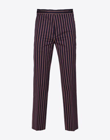 MAISON MARGIELA Pantalon D Pantalon à rayures en coton f