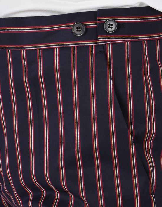MAISON MARGIELA Striped cotton trousers Casual pants D a