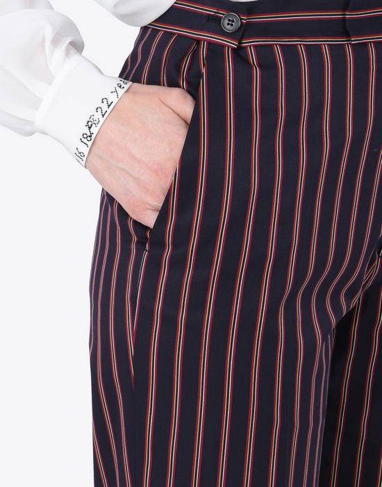 MAISON MARGIELA Striped cotton trousers Casual pants D b