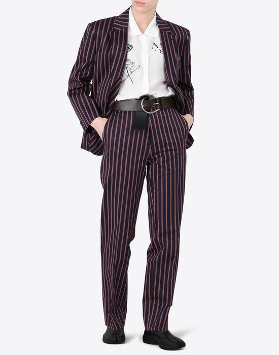 MAISON MARGIELA Striped cotton trousers Casual pants D d