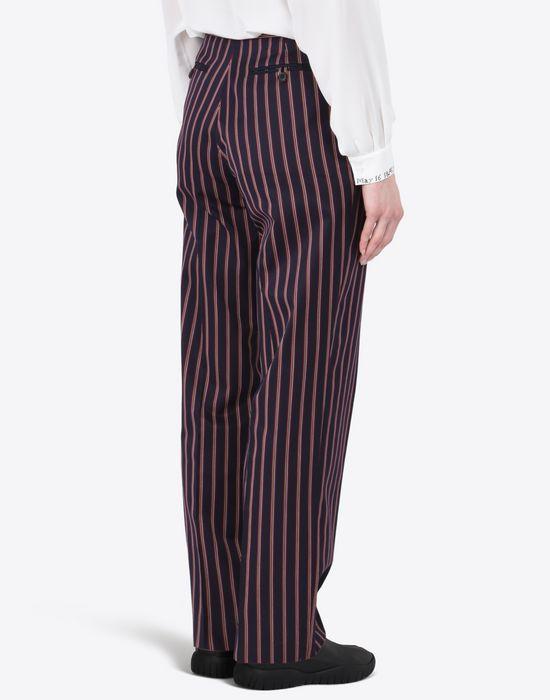 MAISON MARGIELA Striped cotton trousers Casual pants D e