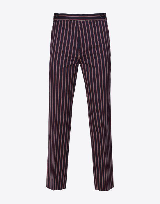 MAISON MARGIELA Striped cotton trousers Casual pants D f